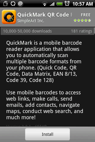 QuickMark | Android Guide