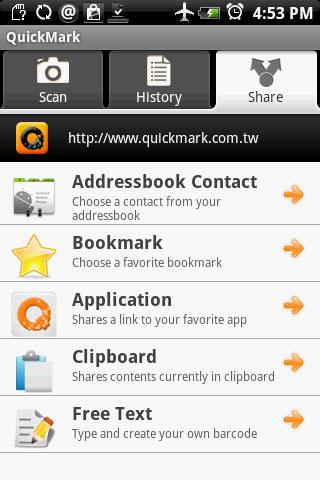descargar quickmark para android