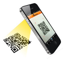 qr code iphone scan